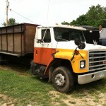 Gary Deer Jr's live-bottom  hauler.