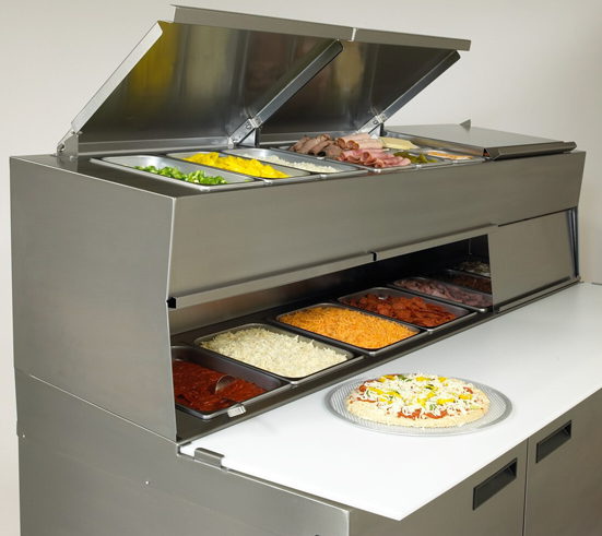 Commercial Pizza Prep Tables Images Pizza Prep Tables - Cold prep table for sale